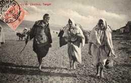 TANGER- 91  2 - Marchandes De Charbon. 1911. - Tanger