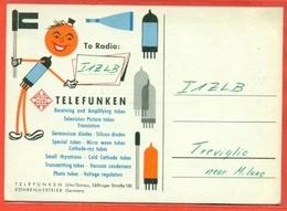 PUBBLICITARIE -TELEFUNKEN - CB BERLINO- PUBBLICITARIE - CB