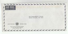 UN In AUSTRALIA  UNIC  COVER To  UN NY USA United Nations - 1966-79 Elizabeth II