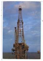 CPSM-1988-ARABIE SAOUDITE-UNE PLATE-FORME DE FORAGE- - Arabie Saoudite
