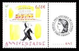 SEMPE France Neuf ** Avec Vignette Personnalisée Avec Le Logo Cérès. Anniversaire 2004. - Stripsverhalen