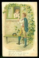 NEDERLAND ANSICHTKAART NVPH 51 Gelopen In 1905 Naar Rondstempel LEKKERKERK * FANTASIE (3887b) - Fantasie