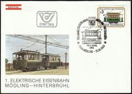 Austria Modling 1983 / Tramway / Erste Elektrische Bahn Mödling - Hinterbrühl / FDC - Tramways
