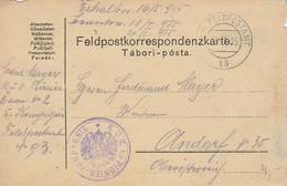 Feldpostkarte K.u.k. 5/2 Pionier-Kompagnie - Feldpost 15 Nach Andorf  (36050) - 1850-1918 Imperium