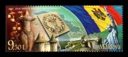Moldova 2018 Mih. 1056 Postage Stamp Day Of Moldova MNH ** - Moldawien (Moldau)