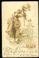 NEDERLAND ANSICHTKAART Uit 1902 NVPH 55 Gelopen Van 's-HERTOGENBOSCH Naar DEN HAAG  * FANTASIE (3887G) - Andere