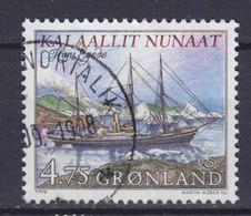 Greenland 1998 Mi. 328 Y    4.50 (Kr) NORDEN Nordia Seefahrt Dampfsegelschiff 'Hans Egede' (1905) Papier Fl. - Greenland