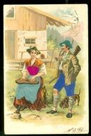 NEDERLAND ANSICHTKAART Uit 1904 NVPH 51 Gelopen Van DE STEEG Naar PORTENGEN  * FANTASIE (3887e) - Fantasie