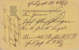 Feldpostkarte Oberösterreich Nach Feldpost 432 - 1917  (36053) - 1850-1918 Imperium