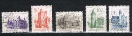 Niederlande 570/574 Gestempelt - Sommermarken 1951, Burgen - Periode 1949-1980 (Juliana)