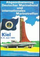 Germany Kiel 1986 / Kieler Woche, Marinetreffen / Kiel Week, Marine Meeting / Submarine, U-boot - Militaria