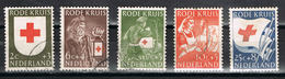 Niederlande 615/619 Gestempelt - Rotes Kreuz 1953 - Periode 1949-1980 (Juliana)