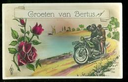 NEDERLAND ANSICHTKAART Uit 1929 Gelopen Van OUD-BEIJERLAND Naar HERWIJNEN * FANTASIE (3887p) - Fantasie