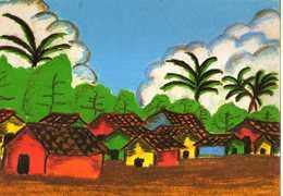 Dessin Realise Par Les Jeunes Du Centre Populaire Culturel De LEON, Nicaragua - Nicaragua