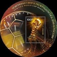 Russia 2015 Mih. 2217 (Bl.223) Football. FIFA World Cup 2018 In Russia MNH ** - Ongebruikt