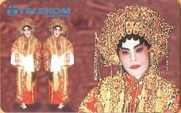 Malaysia - MLS-C-DH, Costume Of Chinese Opera, 10 RM, Used - Malaysia
