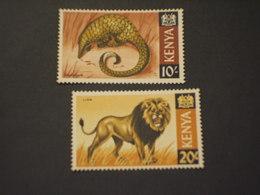 KENIA - 1966/9 FAUNA 10 Sh. - 20 Sh.- NUOVI(++). - Kenia (1963-...)