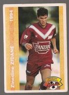 Carte Panini Football 1994 Cards Official. N° 155 Zinedine Zidane - Other