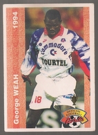 Carte Panini Football 1994 Cards Official. N° 207 George Weah. Président Du Libéria - Other Collections