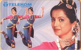 Malaysia - MLS-C-EI.1, Costume Of Indian Dancer, 10 RM, Used - Malaysia