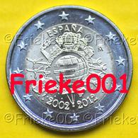 Spanje - Espagne - 2 Euro 2012 Comm.(10 Jaar Euro Cash). - Espagne