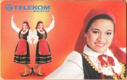 Malaysia - MLS-C-DH.1, Costume Of Portuguese Community 2, 10 RM, Used - Malaysia