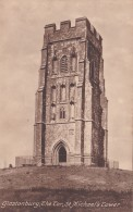 GLASTONBURY - THE TOR. ST MICHAELS TOWER - England