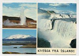 ICELAND  -  AK 329085 Kvedja Fra Islandi - Iceland