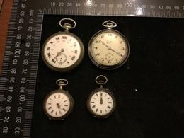 Lot De 4 Montre Gousset - Watches: Bracket