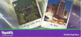 Harrah's Casino Lake Tahoe & Reno Nevada USA Copyright 1991  (4 X 8.75 Inches) - Other