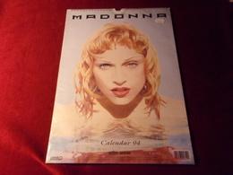 MADONNA  CALENDAR  1994 - Calendriers