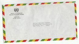 UN In BOLIVIA UNIC LA PAZ COVER To  UN NY USA United Nations - Bolivia