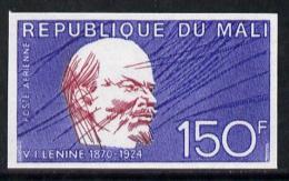 6039 Mali 1974 Lenin 50th Death Anniversary 150f Imperf, As SG 435 (constitutions) - Mali (1959-...)