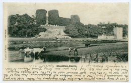 RHUDDLAN CASTLE / ADDRESSES - KEITH, LAND STREET & AYR, MONTGOMERIE TERRACE / POSTMARK - AYR - Flintshire