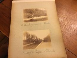 Rare Album 38 Photos Velizy,chaville Viroflay,meudon,issy Les Moulineaux ,pèlerinages 1892 - Mont Valerien