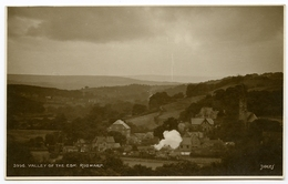 RUSWARP : THE VALLEY OF THE ESK (RAILWAY STATION & TRAIN) - Whitby