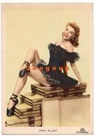 Postcard Cromocart 41 Cinema American Actress And Dancer Vera Ellen Metro Goldwyn Mayer Films - Artistes