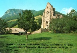 Saint Jean D'aulps Ruines De L'abbaye De Notre Dame Des Alpes   CPM Ou CPSM - Saint-Jean-d'Aulps