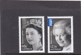 Australia ASC 2974-2975 2012 QE II Birthday,Diamond Jubilee,Mint Never Hinged, - 2010-... Elizabeth II
