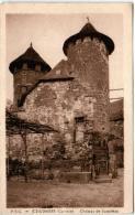 4NF 545 CPA - COLLONGES - CHATEAU DE VASSINHAC - France
