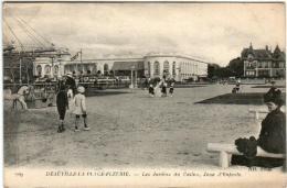 4NX 734 CPA - DEAUVILLE PLAGE FLEURIE - LES JARDINS DU CASINO - Deauville