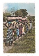 L'Afrique-Porteuses D'Eau- Femmes Aux Seins Nus- Hoa-gui-(C.6089) - Cartes Postales