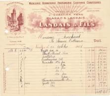 AC   B3361 - Factures / Documents Commerciaux  Landais Et Fils Nantes (44) ( Précisions Sté, état... Voir Scan) - France