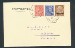 Lothringen - Stempel Beleg- ( Oo3793  ) Siehe Scan ! - Bezetting 1938-45