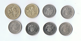LOT 8 PIECES ISLANDE - 1 De 100 Kr 2006- 1 De  50 Kr 1992- 6 De  1 Kr 1984 1987 2005 2006 - Islande