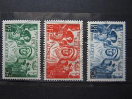 VEND BEAUX TIMBRES D ' ALGERIE N° 276 - 278 , X !!! - Algérie (1924-1962)