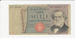 Italy 1000 Lire - [ 2] 1946-… : Républic