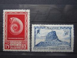 VEND BEAUX TIMBRES D ' ALGERIE N° 297 + 298 , X !!! - Algeria (1924-1962)
