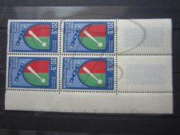 VEND BEAUX TIMBRES D ' ALGERIE N° 352 EN BLOC DE 4 + 2 BDF , XX !!! - Algeria (1924-1962)