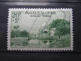 VEND BEAU TIMBRE D ' ALGERIE N° 347 , X !!! - Algeria (1924-1962)